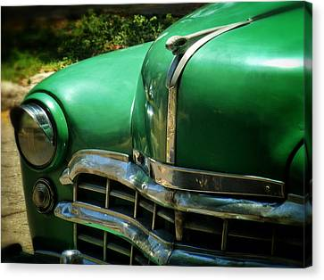 The Real Green Machine Canvas Print by Connie Handscomb