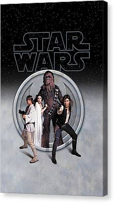 Empire Canvas Print - The Rebels Phone Case by Edward Draganski