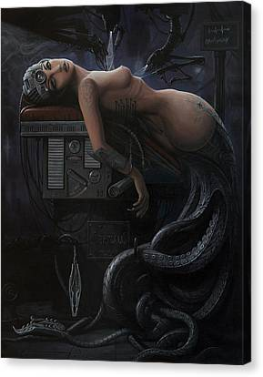 The Rebirth Of A Myth Canvas Print by Adrian Borda