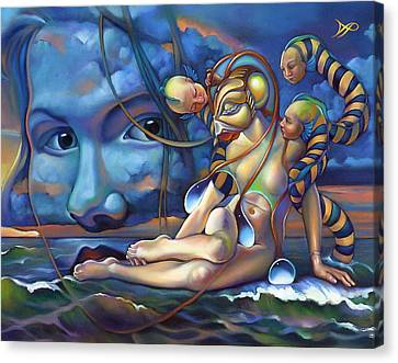 The Rebirth Of Venus Canvas Print