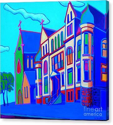 The Rectory Canvas Print by Debra Bretton Robinson