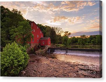 The Red Mill Canvas Print