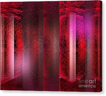 The Red Room Canvas Print by John Krakora