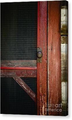 The Red Screen Door Canvas Print by Margie Hurwich