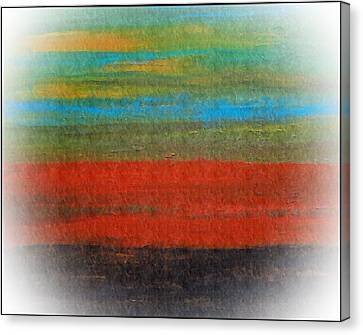 The Red Stripe -or- Meditation Number 28 Canvas Print by Scott Haley