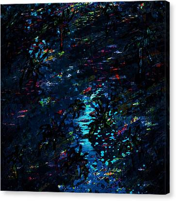 the Reef Canvas Print by Rachel Christine Nowicki