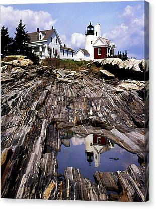 The Reflection At Pemaquid Canvas Print