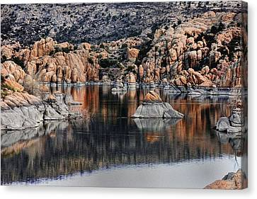 The Reflections Of Beauty  Canvas Print