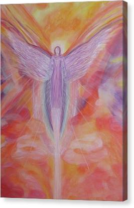 The Reiki Angel Canvas Print