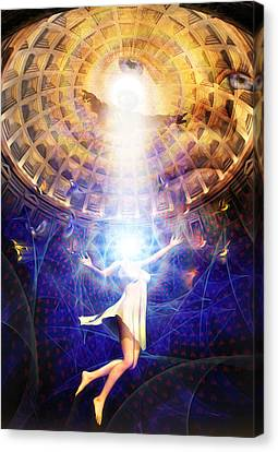 The Release Of Religious Dogma Canvas Print