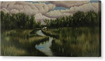The Republican River Canvas Print by Daniel Smith