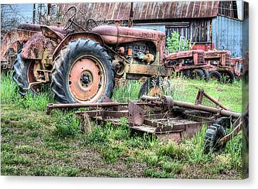 The Retirement Home Canvas Print by JC Findley