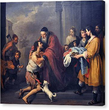 The Return Of The Prodigal Son Canvas Print by MotionAge Designs