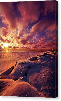 Canvas Print featuring the photograph The Return by Phil Koch