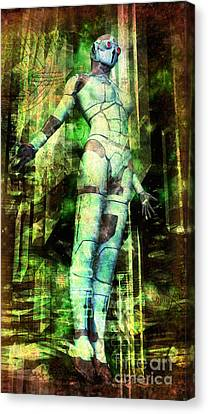 The Revelations Of Glaaki Canvas Print by Luca Oleastri