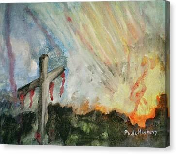 The Risen Christ Canvas Print