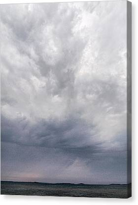 Canvas Print featuring the photograph The Rising Storm 2 by Jouko Lehto