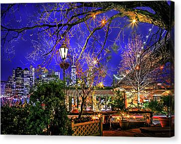 The River Cafe Canvas Print