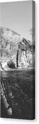 The River Mill At Crystal River Valley Canvas Print