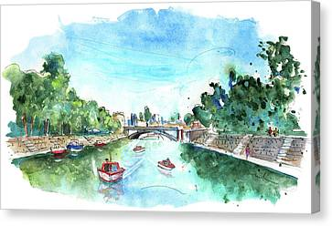 The River Ouse In York 03 Canvas Print