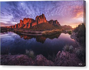 Canvas Print - The River Speaks by Peter Coskun