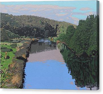 The River Tame Canvas Print