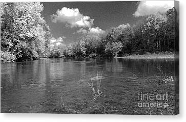 The Rivers Bend  Canvas Print