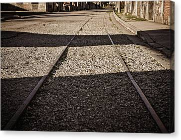 Canvas Print featuring the photograph The Road by Cendrine Marrouat