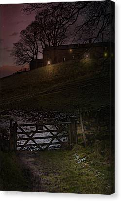 The Road To Pateley Bridge Canvas Print