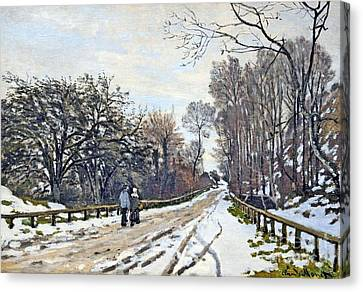The Road To The Farm Of St. Simeon Canvas Print