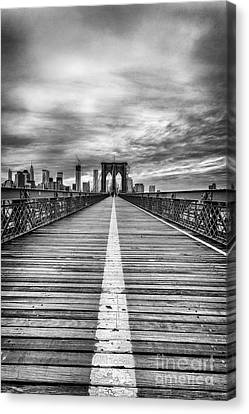 Architecture Canvas Print - The Road To Tomorrow by John Farnan