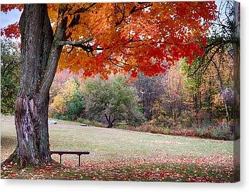 The Robert Frost Farm Canvas Print by Jeff Folger