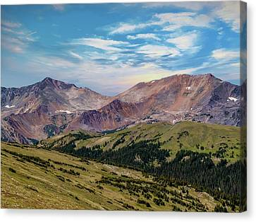 The Rockies Canvas Print by Bill Gallagher