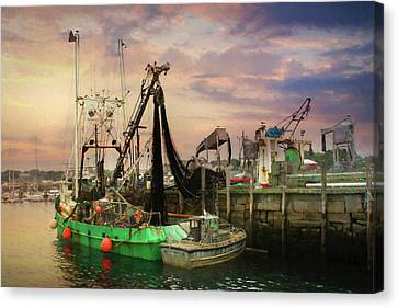 The Rockland Docks Canvas Print