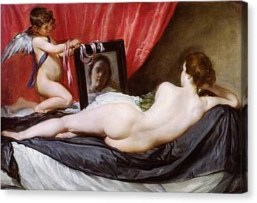 The Rokeby Venus Canvas Print