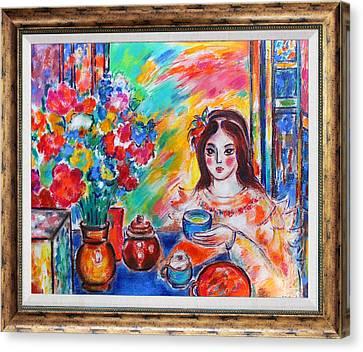 The Romanian Blouse  Canvas Print