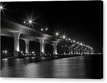 Us1 Canvas Print - The Roosevelt At Night II by Susan Pantuso