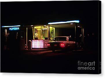 The Roosevelt Drive Inn Canvas Print by Corky Willis Atlanta Photography