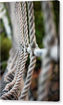 The Rope's Canvas Print by Robert Meanor