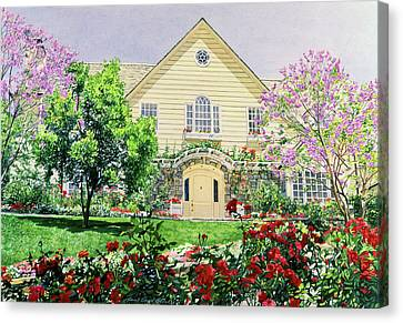 The Rose House Canvas Print