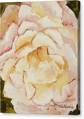 The Rose Canvas Print by Katie OBrien - Printscapes