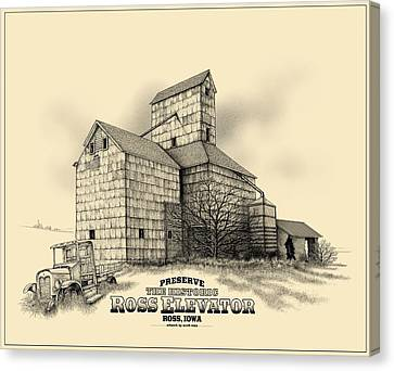 The Ross Elevator Version 2 Canvas Print by Scott Ross