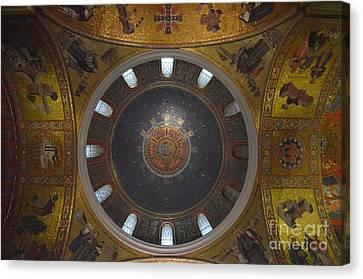 The Rotunda-st Louis Basillica Canvas Print by Terri LeSaint-Keller