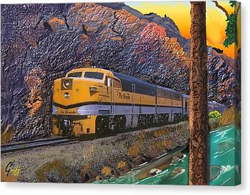 The Royal Gorge Canvas Print by J Griff Griffin