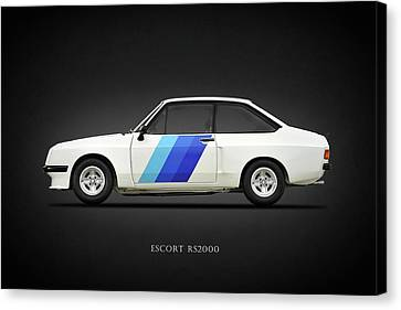 Ford Canvas Print - The Rs2000 by Mark Rogan