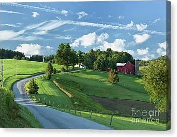The Rudy Farm Canvas Print