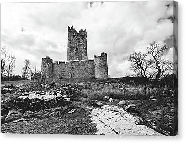 The Ruins Of Ross Castle Canvas Print