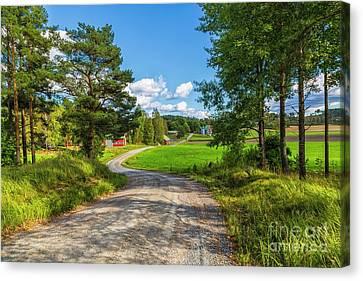 The Rural Landscape Canvas Print by Veikko Suikkanen