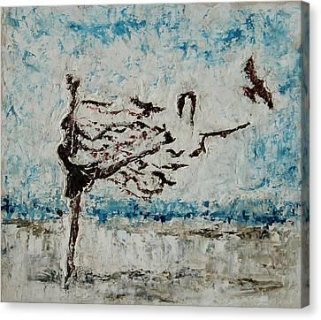 The Rush Canvas Print by Tatiana Ilieva