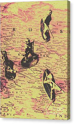 Enemies Canvas Print - The Russian Lines by Jorgo Photography - Wall Art Gallery